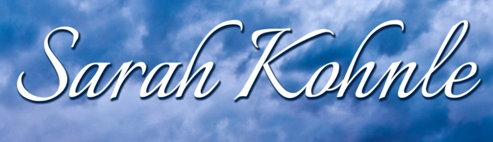 The official website of author Sarah Kohnle